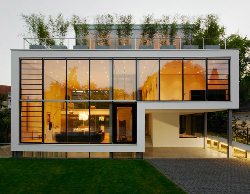 Modern for Classic urban house plans
