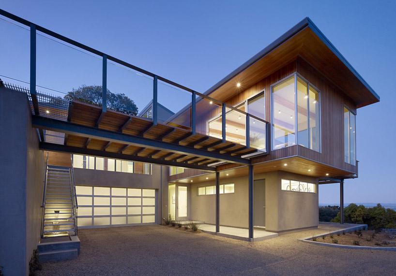 Modern Tiburon Bay House