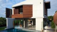 แบบบ้าน MODERN สามชั้นบนเนินเขา กับ Patane Residence by Bureau^Proberts ในประเทศ australia.