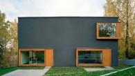 แบบบ้าน Modern Double house (แจกแบบบ้านฟรี)