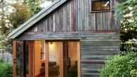 แบบบ้านไม้ The Backyard House - บ้านเล็กในป่าใหญ่