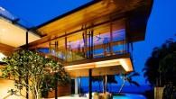 แบบบ้าน Modern : สวนบนชั้นดาดฟ้าและห้องที่อยู่ใต้สระกับ The Fish House