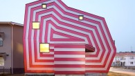 แบบบ้าน MODERN : บ้านลูกกวาดกับ lollipop house