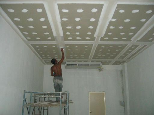 การทำฝ้าเพดาน
