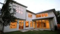 แจกแบบบ้าน บ้านหนึ่งชั้นModern สวยโดดเด่นในป่าใหญ่ แจกแบบบ้านฟรี