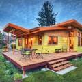 บ้านชั้นเดียว ที่ใช้ไม้เป็นวัสดุหลักในการตกแต่ง ตัวบ้าน ซึ่งแบบบ้านชั้นเดียวแบบนี้เป็นของสถาปนิก ชื่อ NIR PEARLSON ซึ่งได้รับรางวัลมากมาย โดยผู้เขียนเห็นบ้านชั้นเดียวหลังนี้เป็นแรงบัลดาลใจ ในการเป้นต้นแบบในการก่อสร้าง ได้ ซึ่งบ้านชั้นเดียวหลังนี้ สามารถสร้างในที่ดินขนาดไม่ใหญ่มากคือขนาด 14 เมตร x 14 เมตร มีพื้นที่ใช้สอยประมาณ 72 ตรางเมตร โดยมี 2ห้องนอน 1ห้องน้ำ